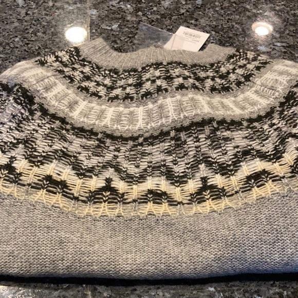 Sonoma super soft grey sweater xs